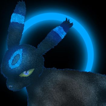 Shiny Umbreon by Scheve94