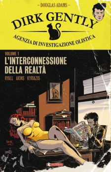 Dirk Gently TPB Italian Edition cover by RobertHack