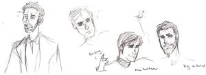 House MD Sketches by fennin