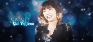 Bright Taeyeon Signature by SeoulHeart