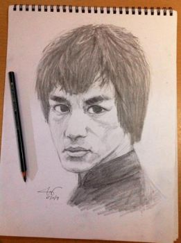 Bruce Lee by chuckie-chan