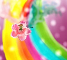 falling through the rainbow by Zoehi