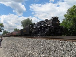 Nickel Plate Road 765 leading the Erie Limited by NewYorkCenteralfan01