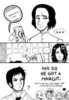 Snape's hair by Shoaapy