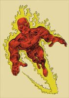 Human Torch by markwelser