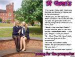 St Gwen's: posing for the prospectus by p-l-richards