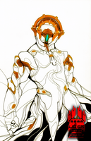 Frost Prime Illustration by Liger-Inuzuka