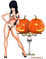 Elvira Batkini Great Pumpkins by Chuck-Bauman