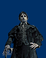 Barnabas Portrait of Collinwood Manor Painting by ryu716