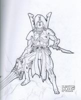 Eldar Reaper Aspect by KnightInFlames