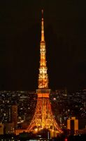 Tokyo Tower by maximira