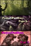 Project::Postburn::Page 3, 4, and 5. by BonePileStudio