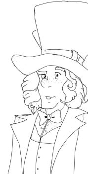 Hatter Outlined by Reiyu-san
