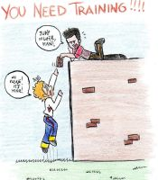 ChrisAndGuy_You need training by RobicTheEscapist