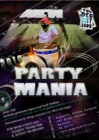 A3 poster for a dj party by GDSWorld