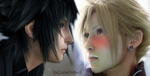 Don't be afraid lil' chocobo .:NoctisxCloud:. by XxClaireStrifexX