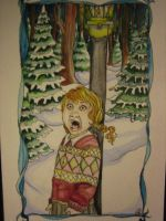 Lucy Sees Mr. Tumnus by jenimal
