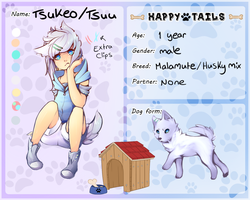 Tsuu's happy tails app by Tsukeo