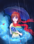 When the Rain is Pouring Down [Contest Entry] by Chewsome