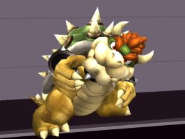 Questionable Bowser by silverhammerbro