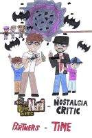 AVGN and NC - Partners in Time Cover by moniek-kuuper