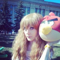 Instagram: Me and Red bird by palecardinal