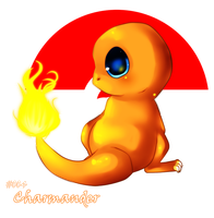 Kawaii Pokemon: Charmander by Luna-Akari