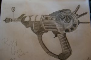 Ray Gun by CreativeExistence