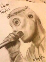 CREY TAYLOR DRAW by H3cT0r-Dibujos