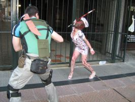 Resident evil Silent hill cosplay by Chris--Redfield