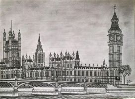 The palace of westminster by AnasBabtchi