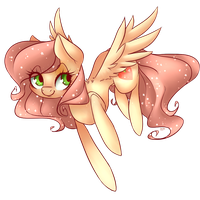 Commission - Sweetie Peachie by grandifloru