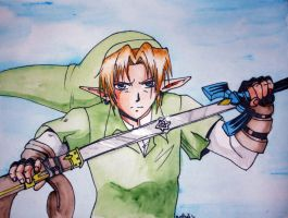 Link, he comes to town... by YaminaYugineAtema