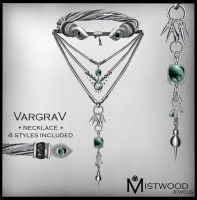 VargraV - Unisex Necklace Jade Version by Aedil