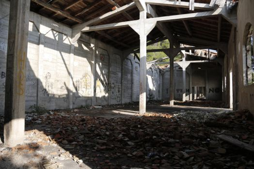 Abandoned Warehouse by Very-Free-Stock