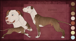 STS Dog - Zombie by ShockTherapyStables