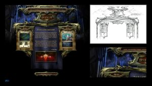Diablo Interface Template by karsten