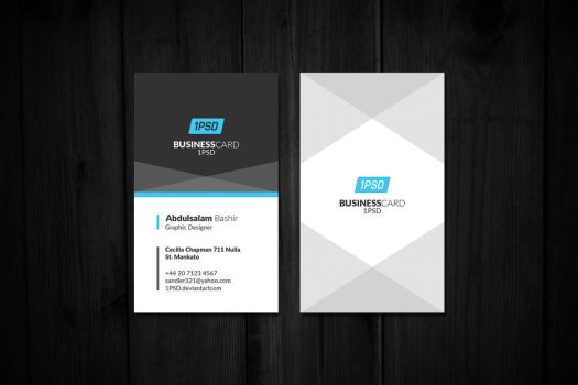 Business Card 4 by 1PSD