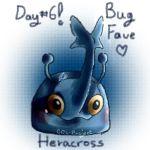 Day6.Fave Bug Type.Heracross by CCL-Project