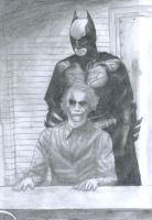 Batman and Joker by TensonStar