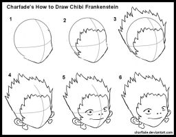 How to Draw Chibi Frankenstein by charfade