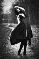 raindrops fashion elegance by Svea-JillCzech