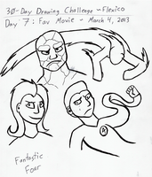 30-Day Drawing Challenge day 7 by Flexico
