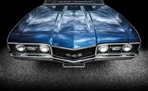 1968 Oldsmobile 442 Front End by AmericanMuscle