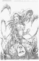Witchblade Shades o fgray by Adrianohq