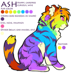 Ash reference sheet by gyzmo