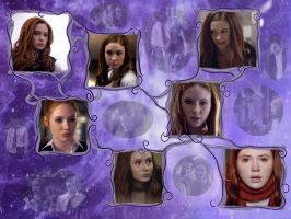 Amy Pond Wallpaper 01 by sharded