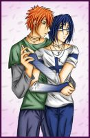 Ichigo and Ishida by Antiquity-Dreams