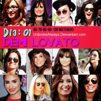 Dia: 01 Demi Lovato by UnbrokenAlways