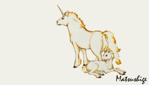 Ponyta and Rapidash by PokeShoppe